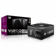 Power Supply Cooler Master V1200, 1200W, ATX, 135mm, 12xSATA, 12xPCI-E(6+2), APFC, 80+ Platinum ,